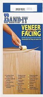 "Band-It 24921 Iron-On Real Wood Veneer Facing 24"" x 96"" Red Oak"
