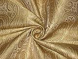 Brokat-Stoff goldfarben Hobbys, Heimdekoration, Nähen,