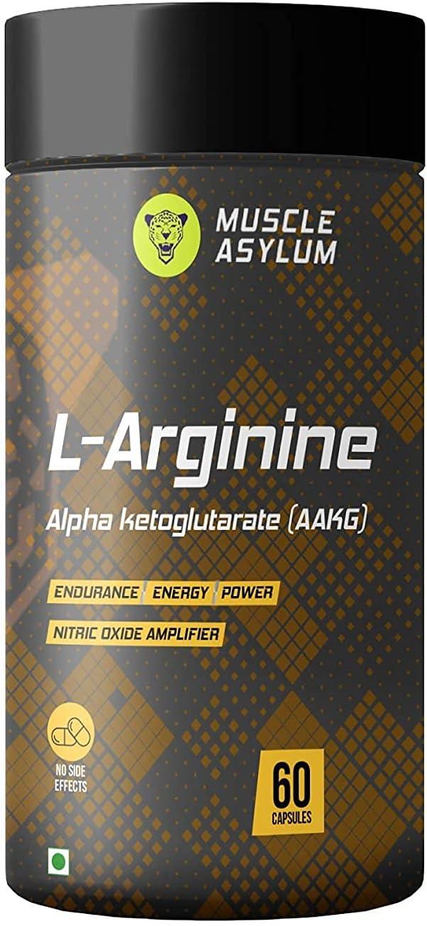 Madow Manufacturer regenerated product L-Arginine Max 74% OFF 1600mg - 60 Capsules