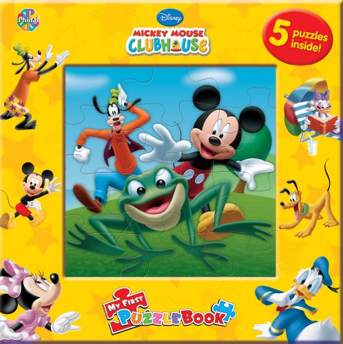 Mickey Mouse Clubhouse: My First Puzzle Book