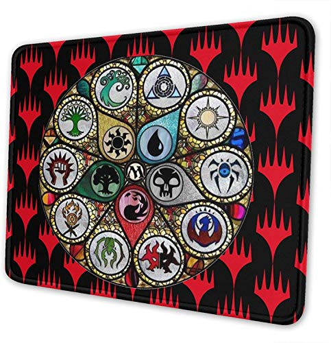 Star Heaven Magic The Gathering MTG Gaming Mouse Pad Large Wrist Support Office Home Wrist Pad for Men Teens Women 10x12 Inch