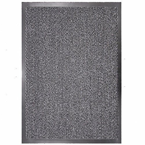 TrendMakers Barrier Mats - Heavy Duty, Non Slip Backing - 3 Colours- Indoor/Outdoor (Grey)