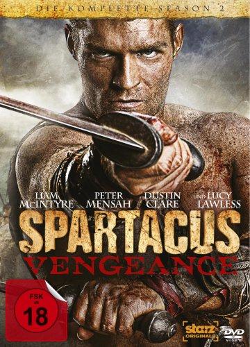 Spartacus: Vengeance - Die komplette Season 2 [4 DVDs]