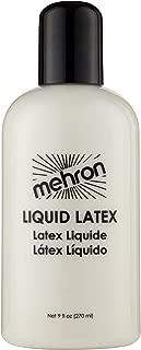 Mehron Makeup Liquid Latex (9 oz) (Clear Flesh)