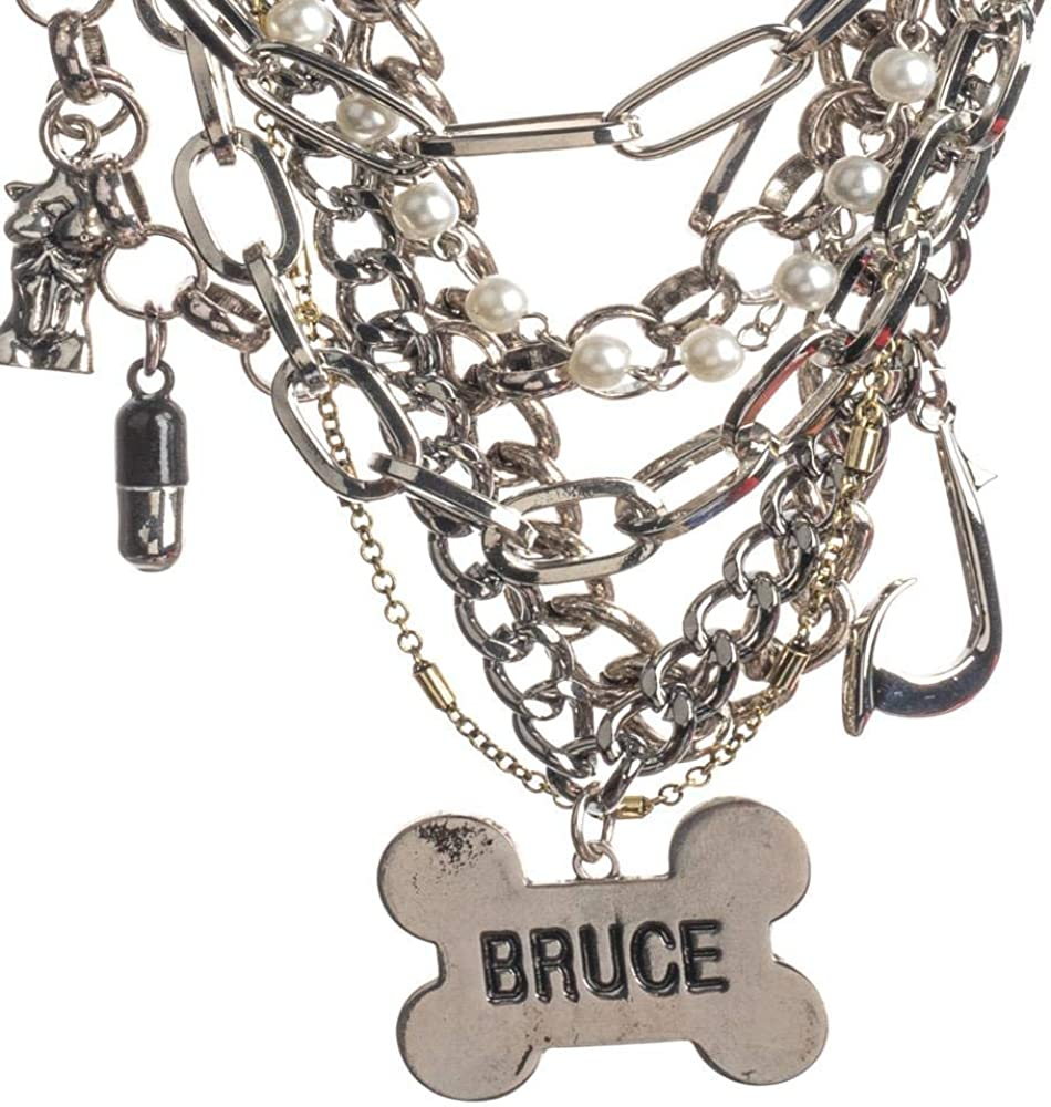Birds of Prey Bruce Choker Charm Necklace