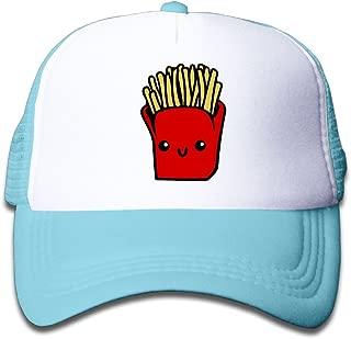 Kawaii French Fries Mesh Baseball Cap Kid Boys Girls Adjustable Golf Trucker Hat