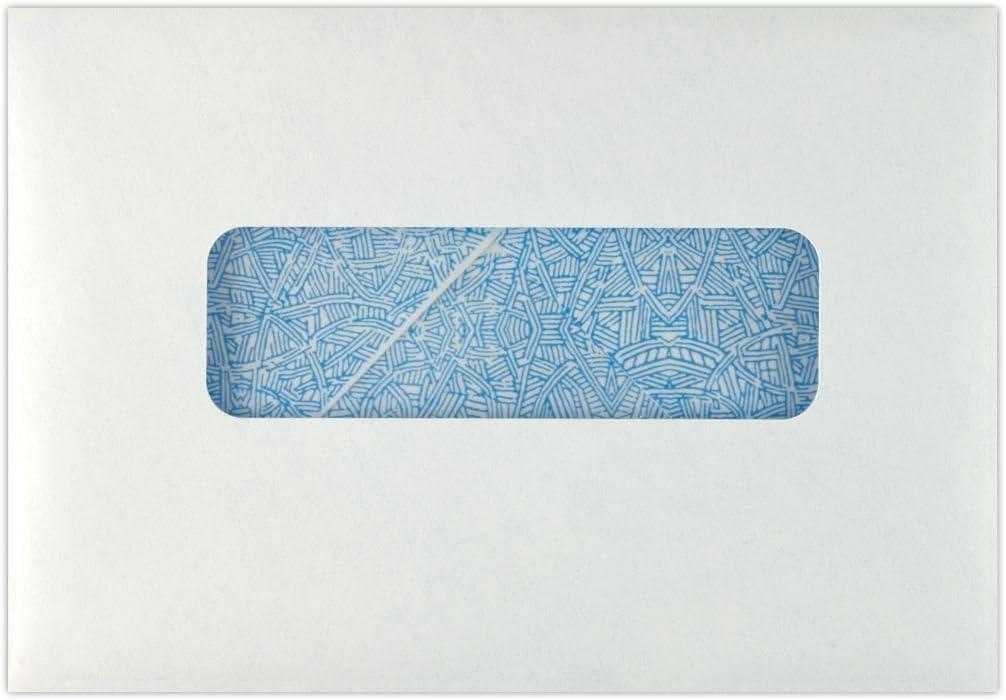 New sales Gorgeous Professional Statement Window Envelopes 4.5 6.5 Whit - x 24lb.