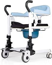 Verlamde Ouderen Wc Stoel Bad Stoel Shift Machine Rolstoel Draagbare Patiënt Transfer 180° Openen en sluiten