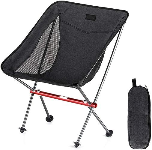 TISESIT OUTDOOR Chaise Pliante de Camping en Plein air, capacité de pêche légère 150KG de la Plage de pêche,A