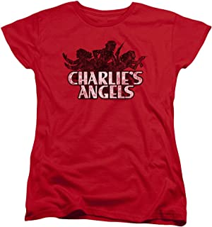 Charlies Angels Charlies Angels Vintage Logo Women's T Shirt