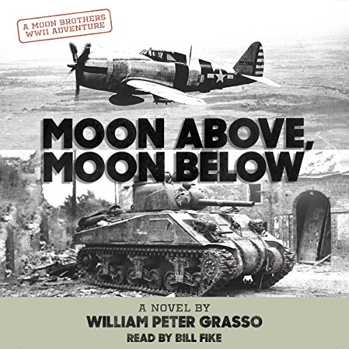 Moon Above, Moon Below audiobook cover art