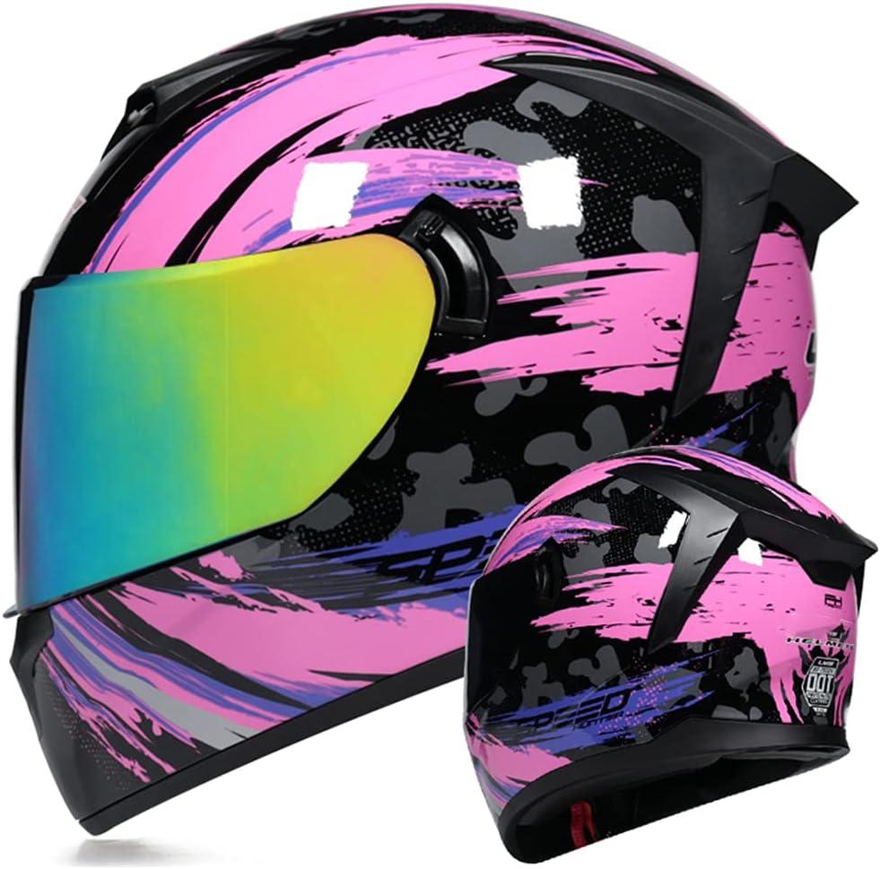 HAOYUNLAI Racing Helmet Motorcycle Double Detachable Lens Challenge the lowest price of Japan Bombing new work