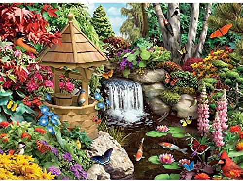 Bits and Pieces - Secret Garden - 1500 Piece Jigsaw Puzzle