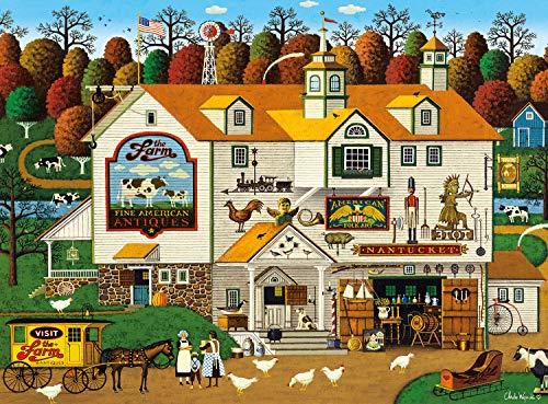 Buffalo Games – Charles Wysocki – The Farm – Puzzle 1000 pezzi