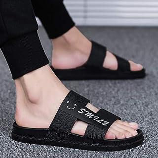 黄贝玲 夏季拖鞋男个性潮牌人字凉拖网红韩版外穿室外凉鞋沙滩时尚