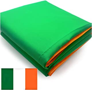 VSVO Irish (Ireland) Flag 3x5 Feet 300D Heavy Duty Oxford Nylon - Sewn Stripes - Durable and Long Lasting 4 Stitch Hemming, Vivid Colors and UV Fade Resistant