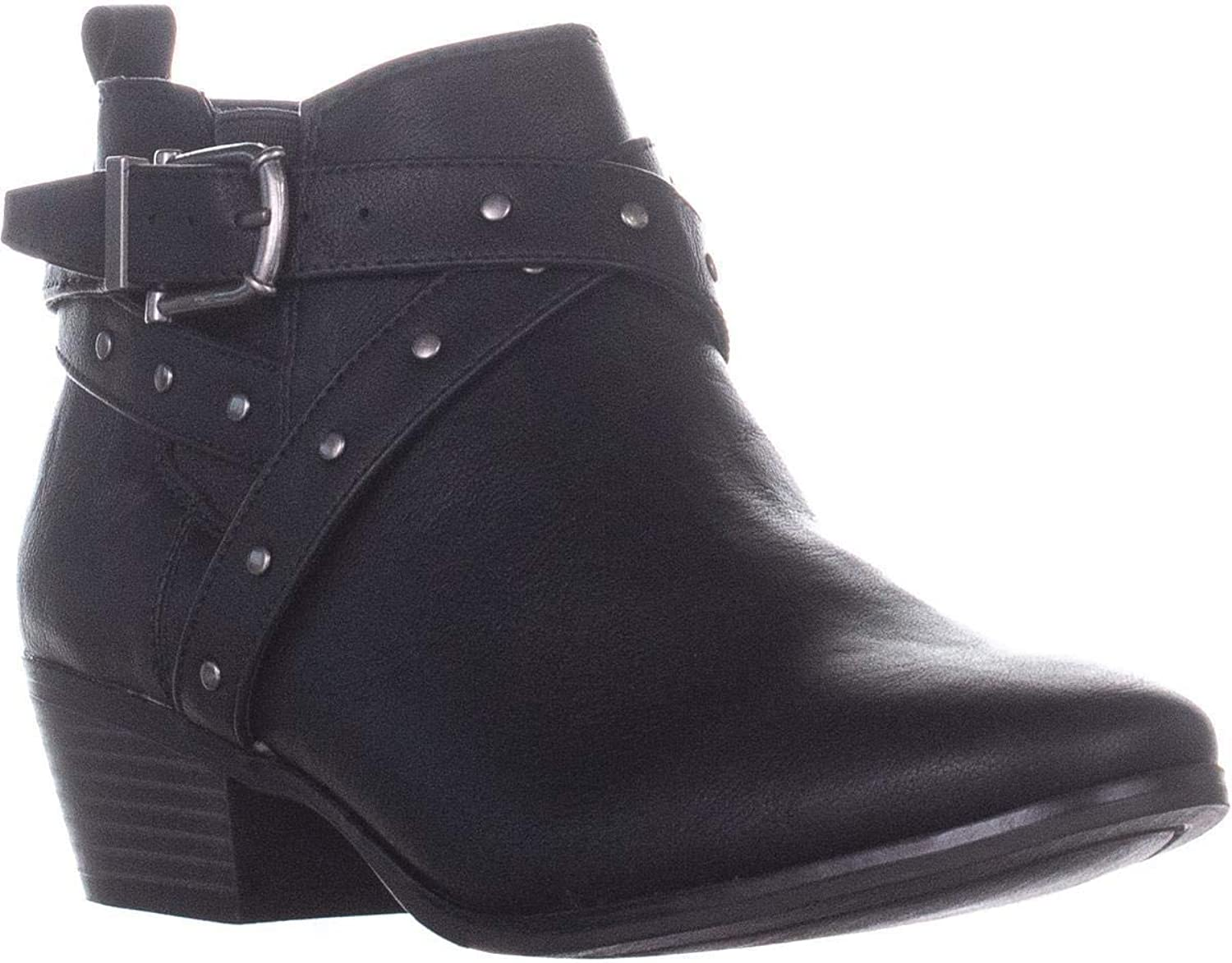 Style & Co. SC35 Harper2 Ankle Boots, Black