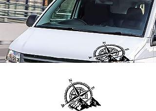 Voor VW Transporter T3 T4 T5 T6, Kofferbak Stickers Camper Streep Lijn Grafische Vinyl Decal