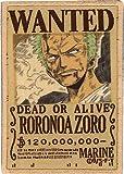 Inagaki clothing ONEPIECE 'One Piece WANTED emblem' PEW032 Roronoa Zoro rapier emblem (japan import)