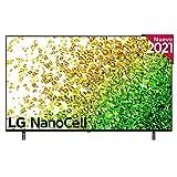 LG NanoCell 55NANO85-ALEXA 2021-Smart TV 4K UHD 139 cm (55') con Inteligencia Artificial, Procesador Inteligente α7 Gen4, Deep Learning, 100% HDR, Dolby ATMOS, HDMI 2.1, USB 2.0, Bluetooth 5.0, WiFi