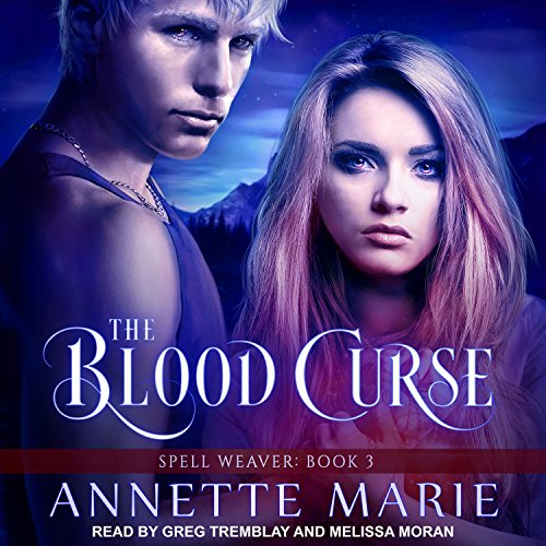 The Blood Curse     Spell Weaver Series, Book 3              De :                                                                                                                                 Annette Marie                               Lu par :                                                                                                                                 Jorjeana Marie,                                                                                        Melissa Moran,                                                                                        Greg Tremblay                      Durée : 10 h et 55 min     Pas de notations     Global 0,0