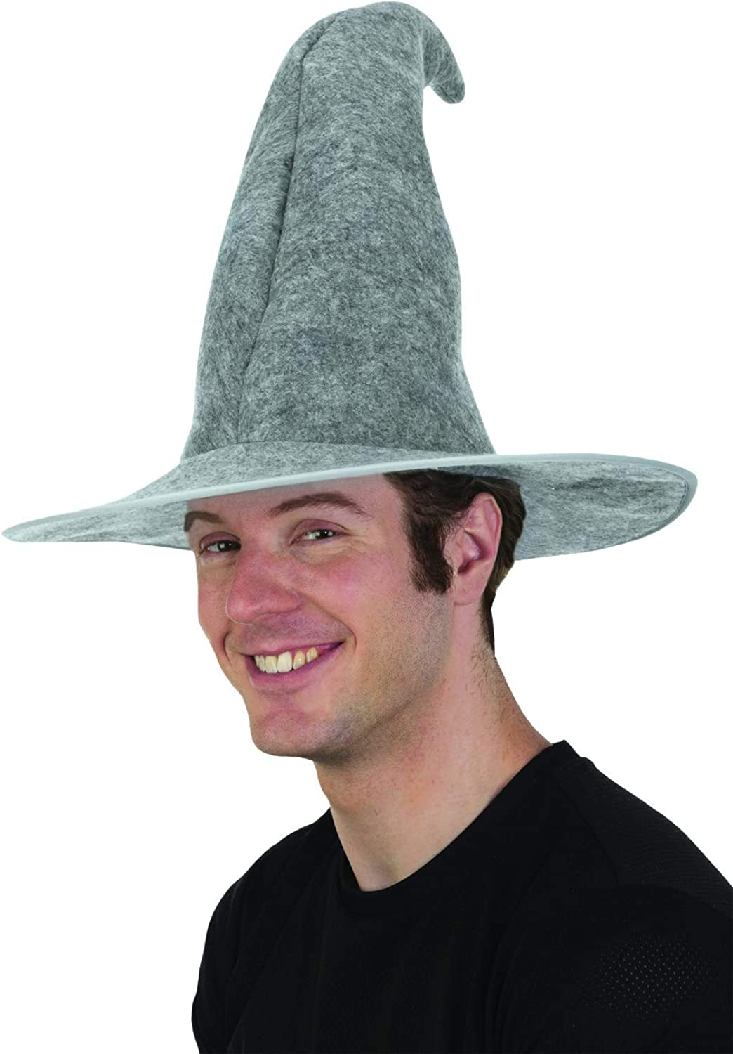 jAc Fixed price for sale Gray List price Wizard Hat Costume Adult Accessory