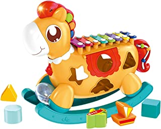Arkmiido Baby Xylophone Toy-Kids Musical Instruments-Kids Xylophone for Toddlers-Shape Sorter and Stacking Toys