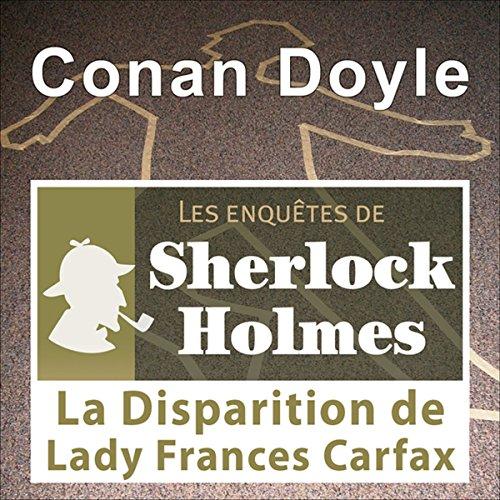Couverture de La disparition de Lady Carfax