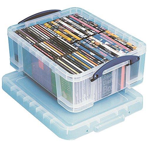 Really Useful Box Aufbewahrungsbox 18 Liter,transparent klar VE=1