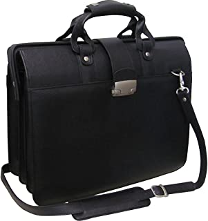 Leather Doctor's Carriage Bag (Black)
