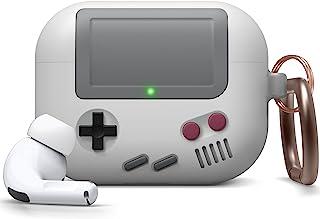 elago AW5 Airpods Pro Hoesje, Klassiek Game Console Design Case met sleutelhanger voor AirPods Pro [Amerikaans Patent Gere...