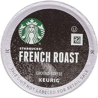 Starbucks French Roast Dark Coffee, 72 K-Cups, (3 Pack of 24 k-cups)
