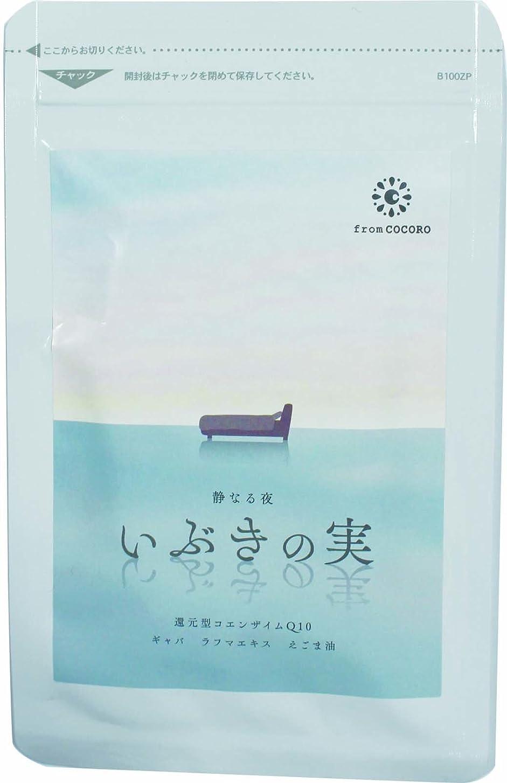 熱心気配りのある桁from COCORO(フロムココロ) いぶきの実 1袋 (60粒) 寝息 いびき 歯ぎしり 対策 ケア ナイト サプリメント 還元型コエンザイムQ10 えごま油 ビタミン ギャバ ラフマエキス 配合
