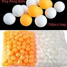 Bianco 6/Pezzi Happy People 74444/ /Palline da Ping Pong Senza Cuciture