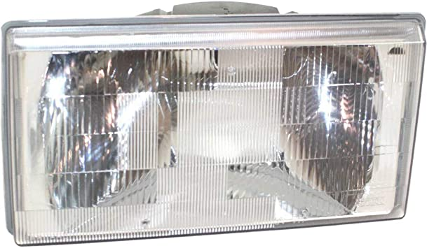 Partslink VO2502106 OE Replacement Headlight Assembly VOLVO 740 1991-1995