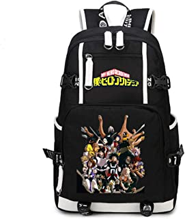 My Hero Academia Anime Boku no Hero Academia Cosplay Mochila niños mochila escolar bolsa de viaje regalo bolso