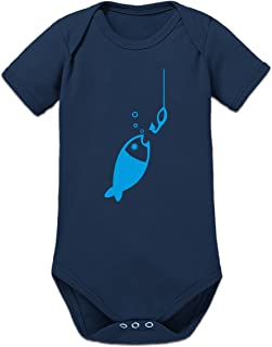 Shirtcity Fishing for Fish Baby Strampler by