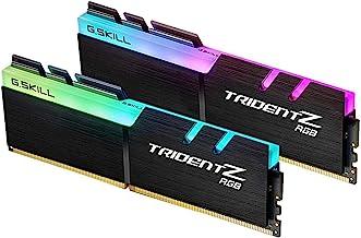 G.Skill Trident Z RGB Series 16GB (2 x 8GB) 288-Pin SDRAM PC4-28800 DDR4 3600 CL18-22-22-42 1.35V Dual Channel Desktop Memory Model F4-3600C18D-16GTZR