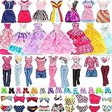 Miunana 24 Accessorios para 11.5 Pulgadas 28 - 30 CM Muñecas: 4 Ropas Fashion + 2 Tops + 2 Pantalones + 2 Gran Ropas + 4 Trajes De Baño +10 PCS Zapatos