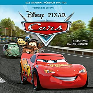 Cars 1 audiobook cover art