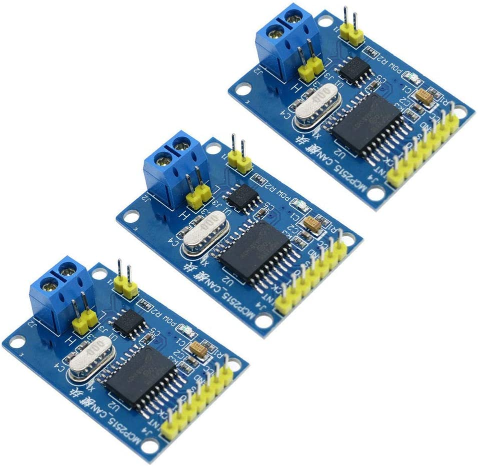 Comidox 3Pcs All In a popularity items free shipping MCP2515 CAN Bus Module SPI Receiver TJA1050