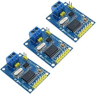Comidox 3Pcs MCP2515 CAN Bus Module TJA1050 Receiver SPI Module for Arduino 51 MCU ARM Controller Development Board