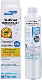 Samsung Hafcin DA29-00020B HAF-CIN/EXP Fresh Refrigerator Water Filter, 1 Pack, White