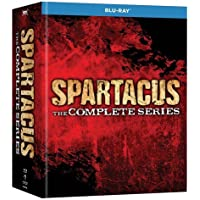 Spartacus: The Complete Series [Blu-ray + Digital HD]