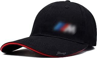 JYMAOYI for BMW Hat Cap M Series Black M Logo Hat Headgear Embroidered Logo Headdress Baseball Hats Chapeau Sports Cap for BMW