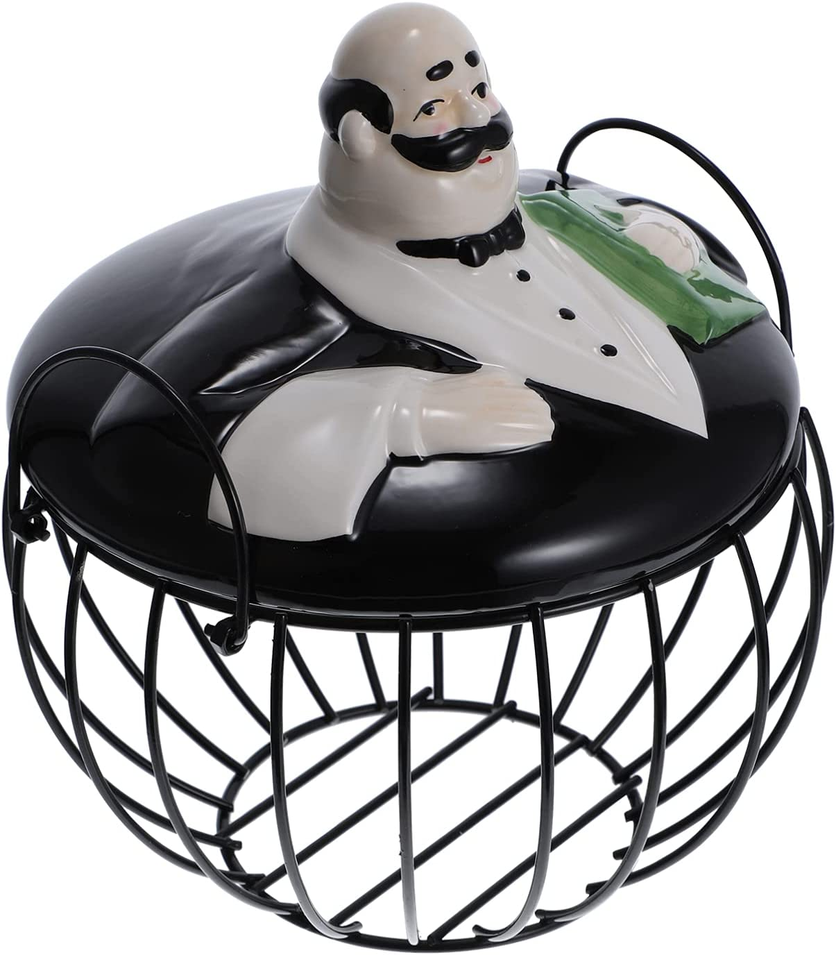 YARNOW Kitchen Storage Metal Wire supreme with Basket Waiter Egg Free shipping on posting reviews Ceramic