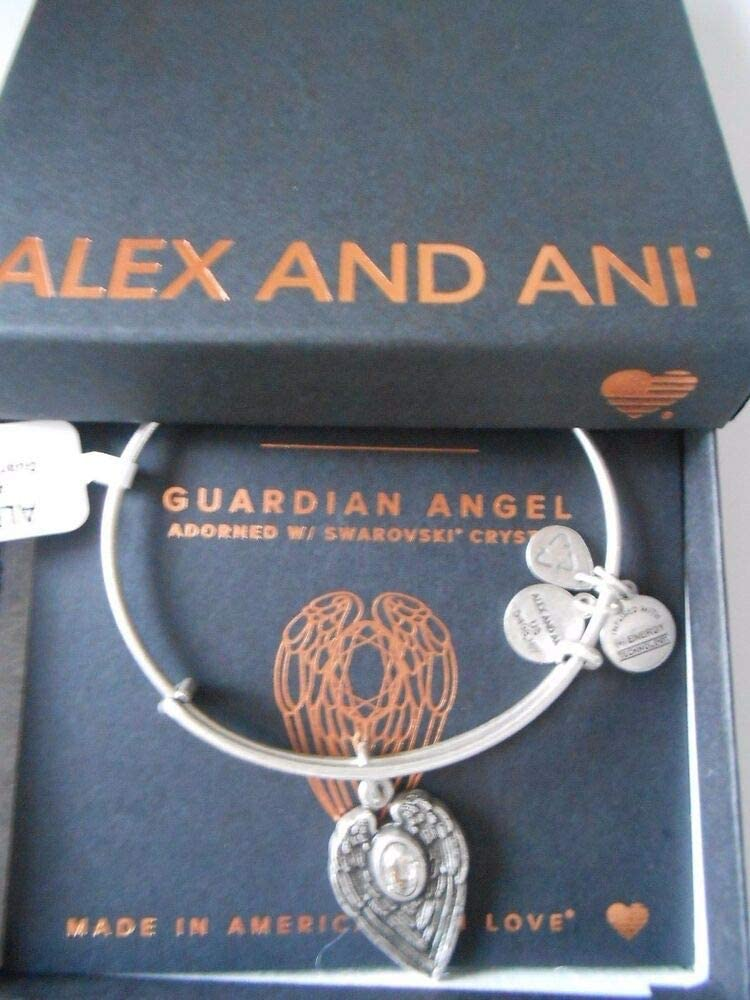 Dealing full price reduction OFFer Bracelet Rafaelian Silver NWTBC Guardian Wire Angel Expandable