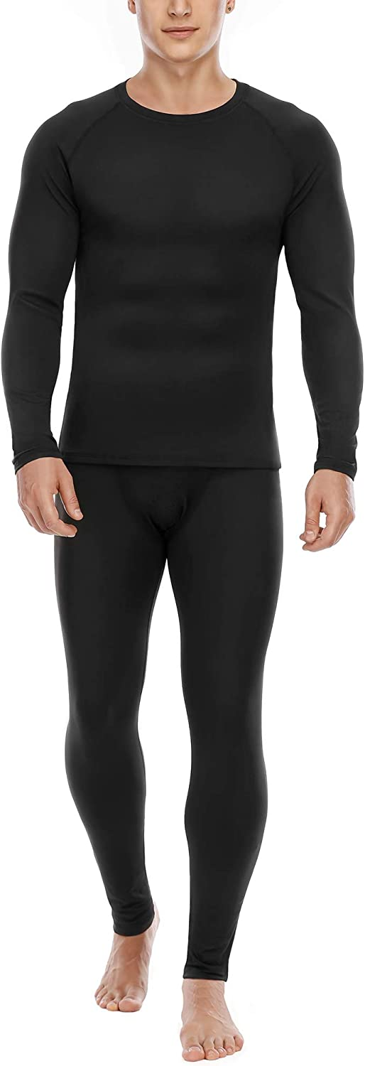 Roadbox Thermal Underwear for security Men Lined Long Johns Microfleece Time sale B