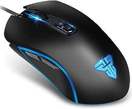 【最新版】 ゲーミングマウス 光学式 usb有線 マウス X9 7色LEDライト 高精度ターゲティング 6段調節可能DPI 7ボタンカ 両利き使用対応 手首の痛みを予防 PUBG/荒野行動対応