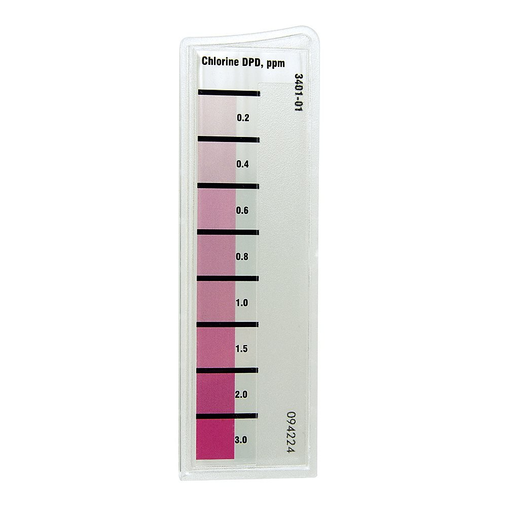 LaMotte 3401-01 Chlorine Octaslide 2 Bar, 0.2 to 3.0